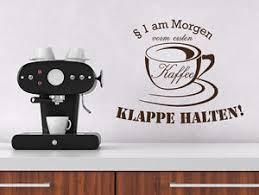 kuchen spr che wandtattoo küchen sprüche 1 am morgen vom ersten kaffee klappe
