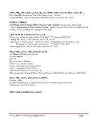 Combined Resume Arianna Rose Combined Resumes 2016