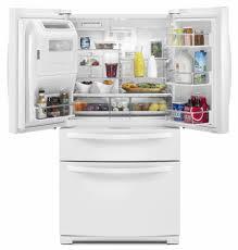 Whirlpool Inch French Door Refrigerator - whirlpool wrx988sibw 36 inch 4 door french door refrigerator with