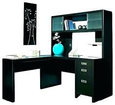 black l shaped desk with hutch black l desk return dimensions x x black secretary desk with hutch