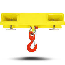 titan forklift lifting hoist swivel hook mobile crane 4000 lb