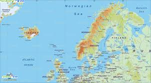 map of europe scandinavia map scandinavia