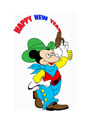 new year mickey mouse coloring pages for kids to color and print