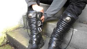 Changing From Adidas Sneaks To New Rock Boots Youtube