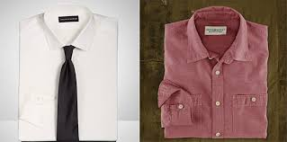 back to basics the difference between a dress shirt and a sport