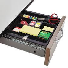 desk drawer organizer tray recycled plastic desk drawer organizer tray plastic black office