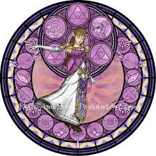 commission stained glass zelda by akili amethyst on deviantart