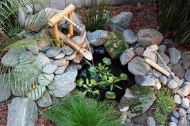 Mini Water Garden Ideas House Small Water Garden Designs With Bamboo And