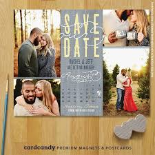 Rustic Save The Date Magnets Rustic Wedding Calendar Save The Date Magnet U2013 Cardcandy