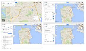 Google Map San Francisco by Redesign Google Maps U2013 Xiaofang Mei Ux Design