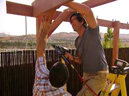 Building Your Own Pergola by Build A Pergola For A Deck Or Patio Hgtv