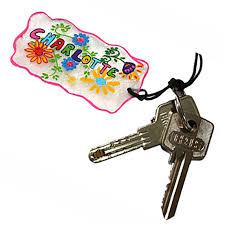 bande plastique pour porte bricolage porte clés photo personnalisé idée cadeau tête à