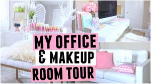 Office Room Images My New Office U0026 Makeup Room Tour Youtube