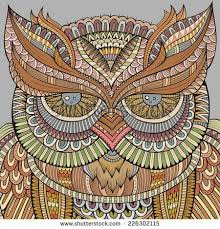 29 best owls colouring images on coloring