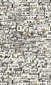 Fornasetti Curtains Mediterranea Fornasetti I 77 5016 Kensington Design