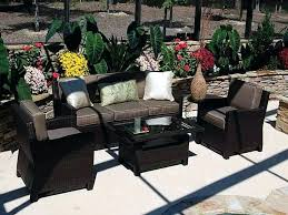elegant plastic wicker patio furniture or awesome resin wicker patio