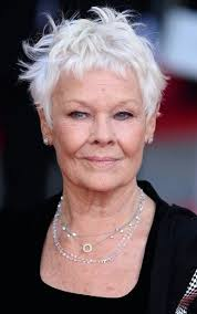 non againg haircuts for women over 50 the best hairstyles for women over 50 judi dench hair style and