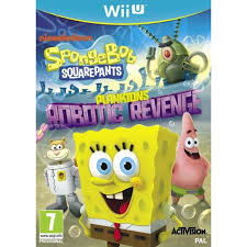 jeux de cuisine spongebob spongebob squarepants plankton s robotic nintendo wii u