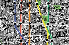Map Of Brooklyn Ny Here Now A Meticulously Hand Drawn Map Of New York City Curbed Ny