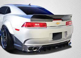 camaro rear spoiler 14 15 chevrolet camaro gt concept carbon fiber kit wing