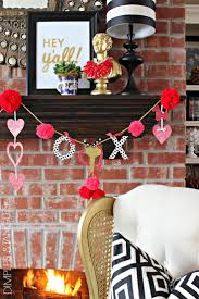 Valentine Day Home Decor by 221 Best Valentine U0027s Day Decor Images On Pinterest Valentine