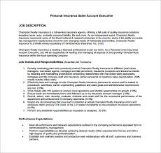 Sample Resume Account Executive by Insurance Agent Resume Job Description 1 Hospitality Resume