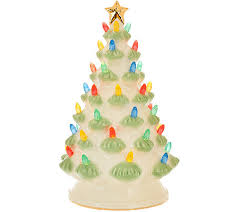 lenox treasured tradition 12 lit tree w 24k gold accents page