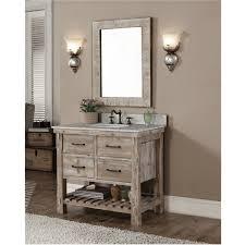 White 36 Bathroom Vanity Accos 36 Inch Rustic Bathroom Vanity Quartz White Marble Top