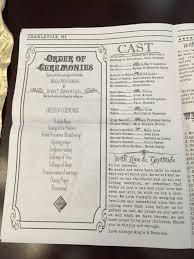 Newspaper Wedding Program Best 25 Wedding Newspaper Ideas On Pinterest Day News Vintage