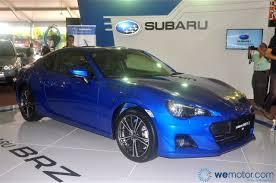 subaru impreza malaysia motor image finally releases 2013 subaru brz in malaysia wemotor com
