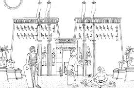 temple coloring page egypt temple egypt u0026 hieroglyphs coloring pages for adults