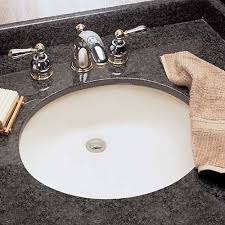Undercounter Bathroom Sink A0495221020 Ovalyn Undermount Style Bathroom Sink White At