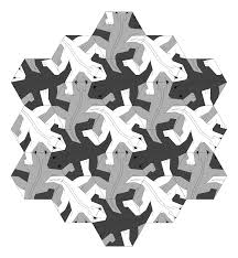 Design Mobel Kunstlerische Optik Sicis Mc Escher Reptiles Escher Y Los Reptiles Ideas And Inspiration