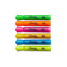 amazon com sharpie accent tank style highlighters 6 colored