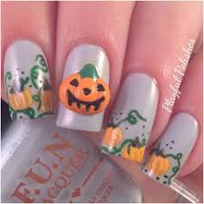 playful polishes halloween nails