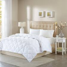 Wool Filled Comforter Australian Wool Filled Sateen 233 Thread Count Cotton Comforter