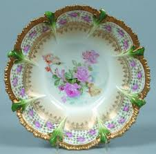 rs prussia bowl roses 1067 best bowls of beauty images on enamels glass