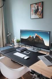 Office Desk Set Up Office Desk Setup Home Design