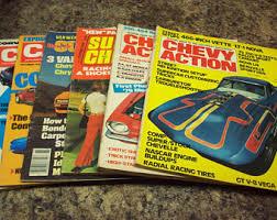 corvette magazines corvette magazine etsy