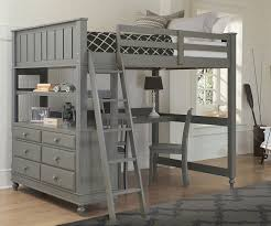 Bunk Bed Desk 2045 Size Loft Bed With Desk Lakehouse Collection Ne