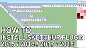 download google sketchup tutorial complete zip how to install sketchup 2015 2016 2017 2018 plugins su