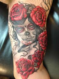 quarter sleeve ideas u quarter and skull forearm