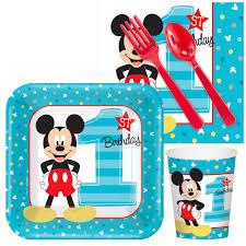 mickey mouse 1st birthday disney mickey mouse 1st birthday snack pack birthdayexpress