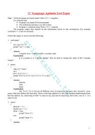 c lnguage aptitude questions u0026 answers by ramesh kumar issuu