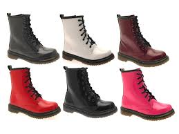 womens boots ebay uk 59 childrens lace up boots combat boots ebay