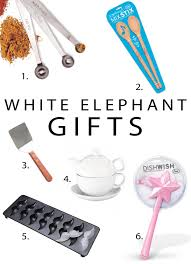 cool white elephant gift ideas