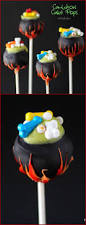 How To Make Halloween Cakes How To Make Cauldron Cake Pops Pint Sized Baker