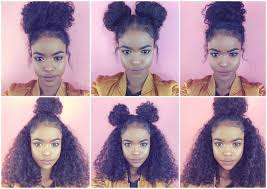 best hair style for kinky hair plus woman over 50 best 25 curly hair buns ideas on pinterest messy curly