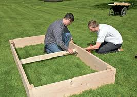 How To Install A Raised Garden Bed - build a raised bed the ecology center