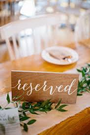 reserved signs for wedding tables reserved table seating rustic signs coma frique studio c93f14d1776b